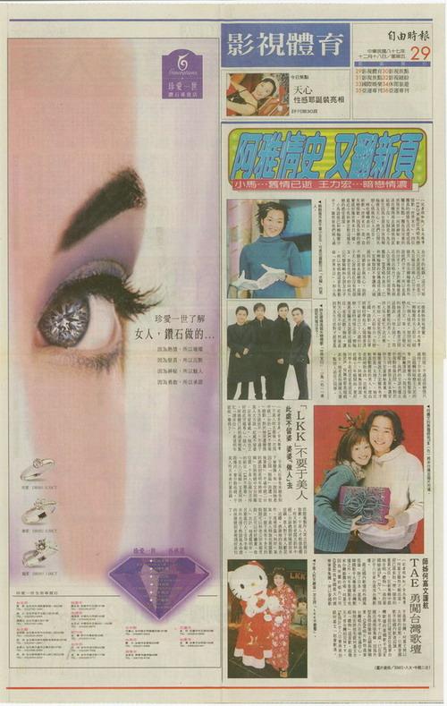 珍愛一世鑽石-1998-品牌發展